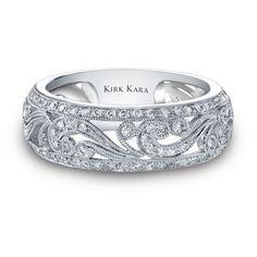 Bling wedding ring via uniquejewelrys.com | Visit wedding-venues.co.uk