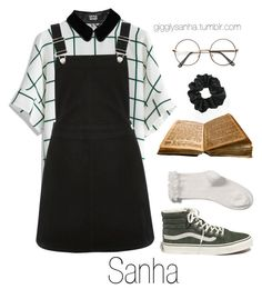 """Bookstore // Sanha"" by suga-infires ❤ liked on Polyvore featuring Chicwish, Oasis and Madewell"