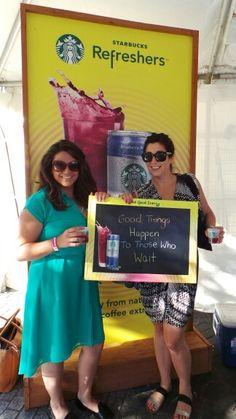 Starbucks Refreshers at the Toronto Wine and Spirit Festival! #StarbucksRefreshers #GiveGoodEnergy