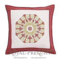 Machine Embroidery Design Greek Ornament Rosetta