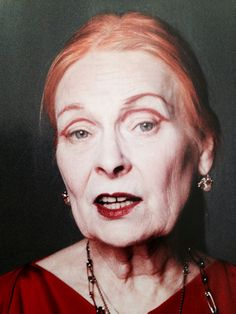 Vivienne Westwood Vivienne Westwood, Glam Makeup, Hair Makeup, Stylish Older Women, Dance Hairstyles, Punk Rock Fashion, Aged To Perfection, Wise Women, Aging Gracefully