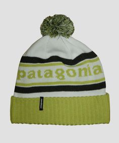 b0fe91c23ea Patagonia Powder Town Beanie Hat Birch White