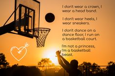 Female Basketball Quote – Sport is lifre Basketball Motivation, Basketball Memes, Basketball Is Life, Basketball Workouts, Basketball Pictures, Sports Basketball, Girls Basketball Quotes, Basketball Stuff, Girls Basketball