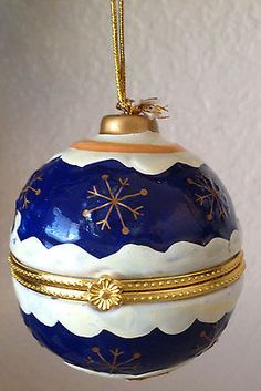 Limoges Boxes Christmas On Pinterest Porcelain Boxes