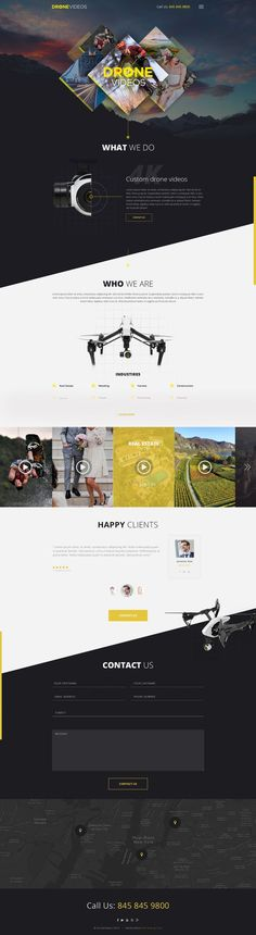 Check out this Web page design from the 99designs community.: