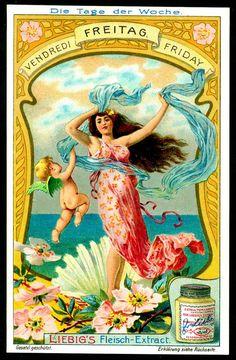 Vintage Advertisements, Vintage Ads, Justus Von Liebig, A4 Poster, Poster Prints, Vintage Seed Packets, Illustrations And Posters, Vintage Illustrations, Magazine Art