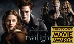 Twilight Wins A Critic's Choice Movie Award!   In a first-ever fan voted category for the Critic's Choice Awards (10th January), The Twilight Saga was awarded Favourite Fan Franchise!  Our favourite saga beat Harry Potter and 007 James Bond! A very deserved award indeed.