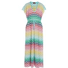 Missoni Crochet-knit maxi kaftan ($1,290) ❤ liked on Polyvore