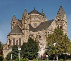 Herz-Jesu-Kirche, Koblenz, Germany #travelcompanion