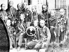 A group of Boshin war era samurai.