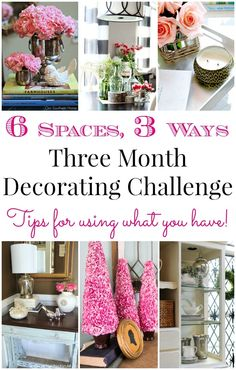 Shop Your Home (3 Month Decorating Challenge)