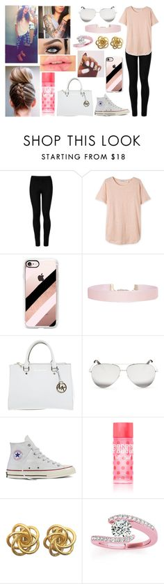 """""""Make today count."""" by jblover-1fan on Polyvore featuring Wolford, Casetify, Humble Chic, Michael Kors, Victoria Beckham, Converse, Victoria's Secret and Allurez"""