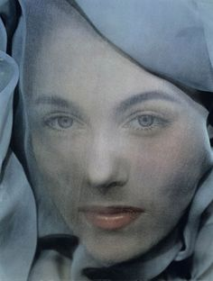 ☫ A Veiled Tale ☫  wedding, artistic and couture veil inspiration - Erwin Blumenfeld (1952)