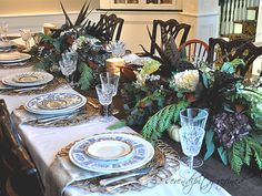 Thanksgiving tablescape by Serendipity Refined