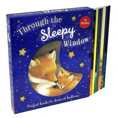 Through The Sleepy Window 10 Books Set Box Collection Inc Goodnight Tiger
