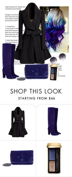 """Untitled #42"" by darklady03 ❤ liked on Polyvore featuring Barbara Bui, Chanel, Guerlain and Spitfire"