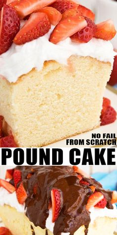 SOUR CREAM POUND CAK