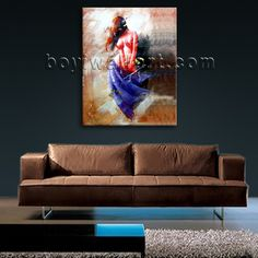 Gorgeous 1-panel canvas print on artist canvas with female in abstract style. It is available in numerous sizes to fit any size room!