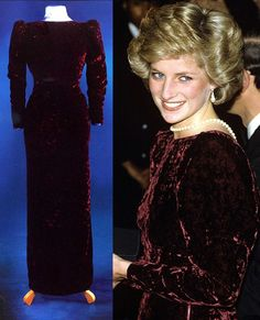 Princess Diana's Dresses on Pinterest | Princess Diana ...