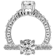 Classic engagement ring featuring a prong set round cut centerstone with a shared prong diamond shank.Visit here http://www.gundersons.com/purchase.cfm?Product_ID=1R1888&page=details.cfm&cartaction=none&thisrow=9&action=list&criteria=130&startrow=1&mystartrow=1&maxrows=28&mem_ID=&cat=11&man=&stay=&afid=&searchcat_id=&itemprice=&searchfield=&searchman_id=&boolean=