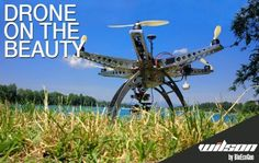 Drone on the beauty: il futuro e' nei droni |