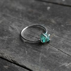 Fab.com | Rough Fluorite Ring by Urban Aviary