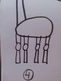 KIRKEBY: Sådan laver du en giraf tegnediktat. Kreativ opgave med G
