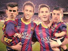 Messi & Neymar or Ronaldo & Bale ??
