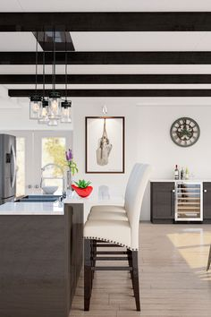 With just a few select decor choices inspired by cherished family dog tags, this kitchen takes on a rustic, industrial style. Connect with a Lowe's designer to bring your style to life.