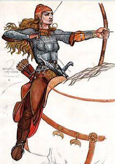 Sarmatians/Scythians Amazon