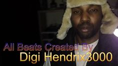 Making Beats And Chopping Samples with Digi Hendrix 3000 #Rockstargimmedat