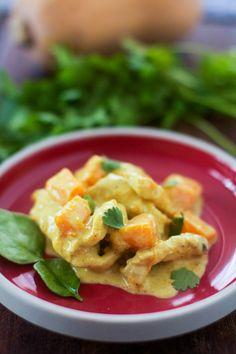 """Curry de poulet à la courge butternut   Un """"Flo"""" de bonnes choses"""