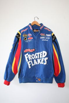 FROSTED FLAKES JACKET // 90s // size medium // tony by GUTTERSHOP
