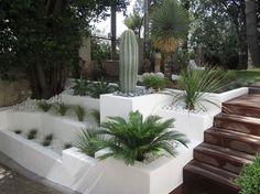 Création de jarinières bâties pour jardin sec, Marseille 13008 Vert Tige