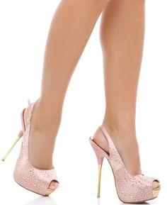 Elegant slingback peep toe pump :) I super LIKE!