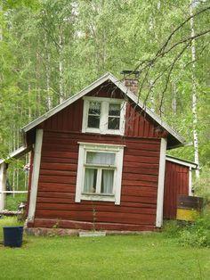 Old house in North-Karelia,Tikkala
