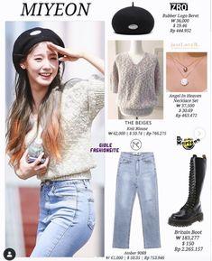 Kpop Fashion, Fashion Wear, Fashion Brand, Korean Fashion, Spring Fashion, Fashion Design, Soyeon, Kpop Outfits, Fashion Stylist