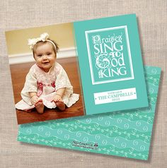 Sing Praises to God the King Custom Card - Get 20 FREE Holiday Cards from ModernGreetings.com