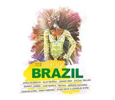 BRAZIL -  #JoaoGilberto #ElisRegina #JorgeBen #SylviaTelles #QuincyJones #LuizBonfa #Maysa #SergioRicardo #CarlosLyra #PeryRibeiro #StanGetz #CharlieByrd #Essentials