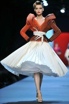 Yovani Turner: John Galliano's Dior Haute Couture 2011 More