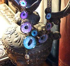 Eva  Handmade Brass Necklace by Hibernacula on Etsy, $96.00
