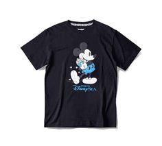 TDS限定 XLARGE コラボ Tシャツ ミッキー ポップコーン 黒