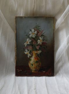 Antique French still life nature morte by FrenchVintageLife