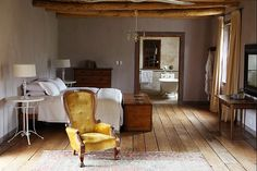 Karoo farmhouse bedroom