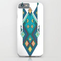 Vintage ethnic tribal aztec ornament iPhone & iPod Case