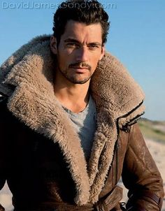 David Gandy { the right lighting and you can't see his wrinkles caused by smoking}