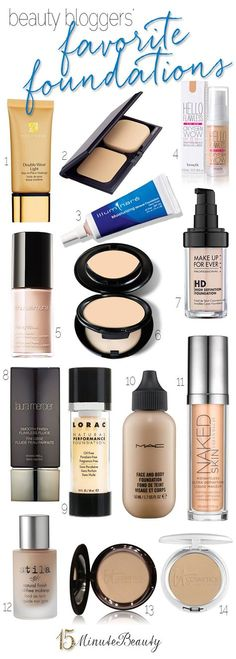 Beauty Bloggers and Their Favorite Foundations