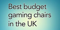 Best budget gaming chairs in the UK for 2021 Uk Supermarkets, Leaflets, Best Budget, Gaming Chair, About Uk, Budgeting, Haha, Chairs, Games