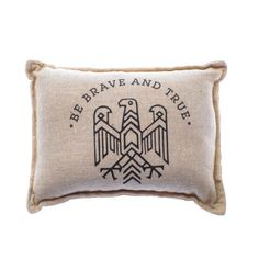 Be Brave Balsam Pillow - Wish this was a full-sized pillow