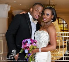 ♥200 Peachtree Wedding | Fisola & Tosin   200 Peachtree, the Atlanta hotel they chose for the wedding reception would be completed in time. Everything fell into place and the lovely couple, surrounded by their close knit family were married. The bride was so beautiful in her Allure dress that the ever-stoic Tosin was moved to tears when he saw her smile as she walked down the aisle on her father's arm.